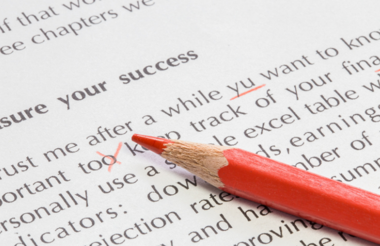 12 Top Tips that'll Make You a Better Proof Reader